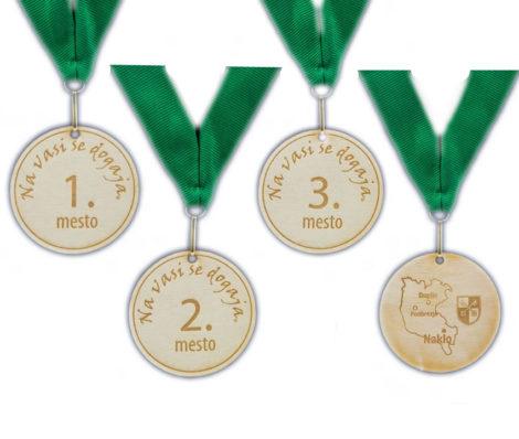 Drvene medalje