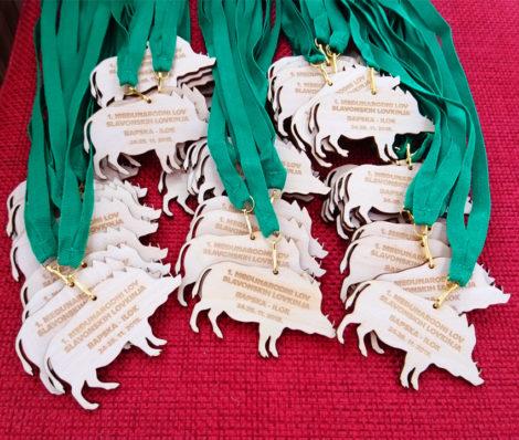 Medalje od drveta
